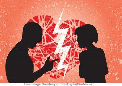 couple arguing