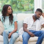 husband won't talk couple