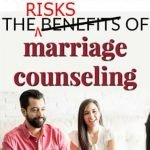 marriage counseling risky for affairs