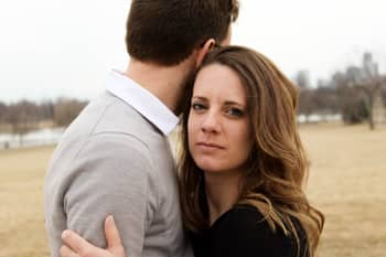 unhappy woman embracing complaints dating